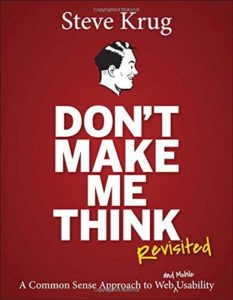 Steve Krug - Don't Make me think revisited